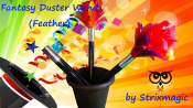 Fantasy Duster Wand (Feather) by Strixmagic - Trick
