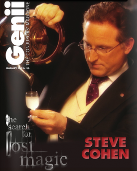Genii Magazine - January 2013 - Steve Cohen