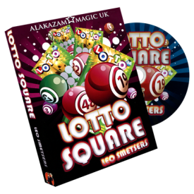 Lotto Square by A.O. Smetsers and Alakazam Magic - DVD