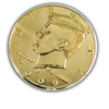Half Dollar - Gold Plated