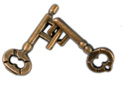 Cast Key Puzzle - Cast Metal