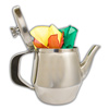 Tea Kettle, Antique - Chrome