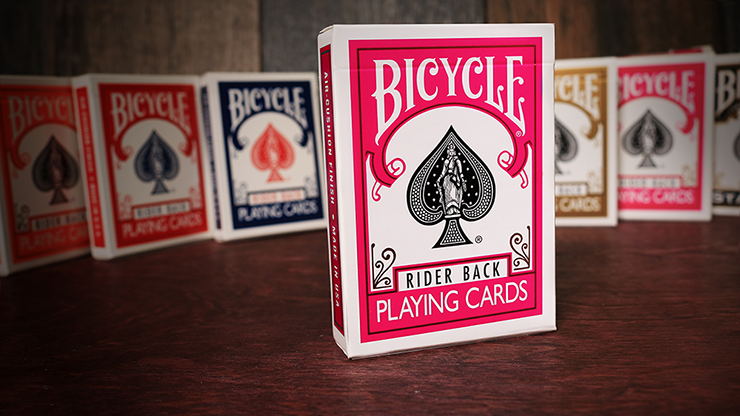 Cards Bicycle Fuchsia Back USPCC