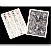 52 on 1 Card - Poker Size (Bicycle Back)