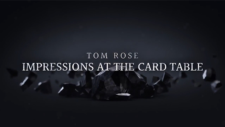 FREE with $100 Order - Impressions at the Card Table (2 DVD Set) by Tom Rose