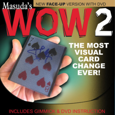 Wow 2.0 (Face Up Version and DVD) by Masuda - DVD
