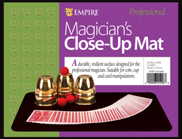 Magician's Close Up Mat 17 x 13 Black by Empire