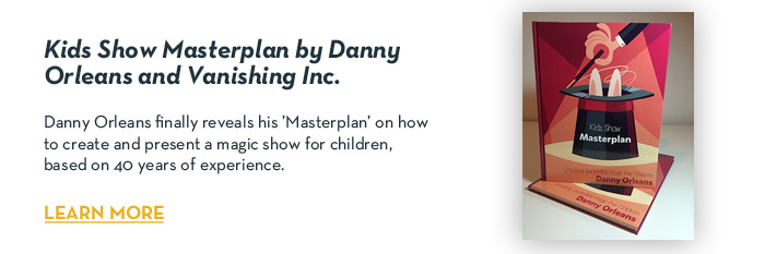 Kids Show Masterplan by Danny Orleans and Vanishing Inc - Book