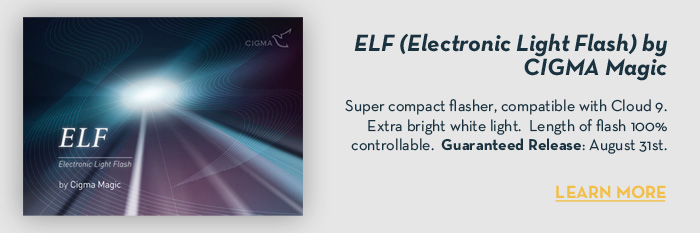 ELF (Electronic Light Flash) by Shin Lim & CIGMA Magic - Trick
