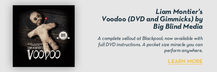 Liam Montier's Voodoo (DVD and Gimmicks) by Big Blind Media