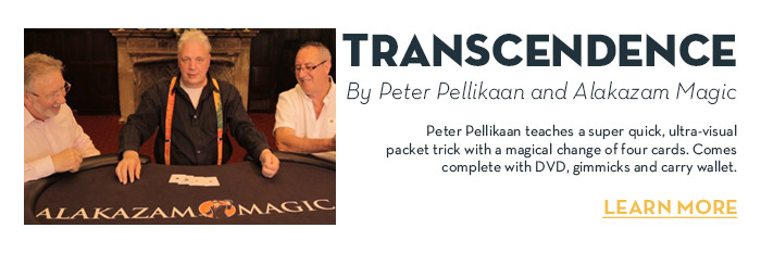 Transcendence (DVD and Gimmicks) by Peter Pellikaan and Alakazam