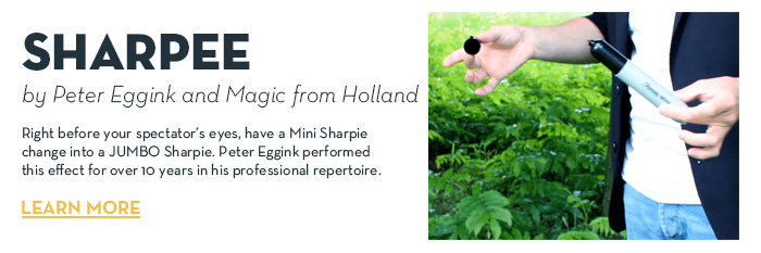 Sharpee by Peter Eggink and MagicfromHolland - Trick