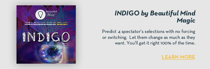 INDIGO by Beautiful Mind Magic - Trick