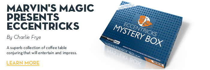 Marvin's Magic Presents Eccentricks by Charlie Frye - Trick