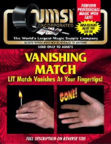 Vanishing Lit Match - UMSI