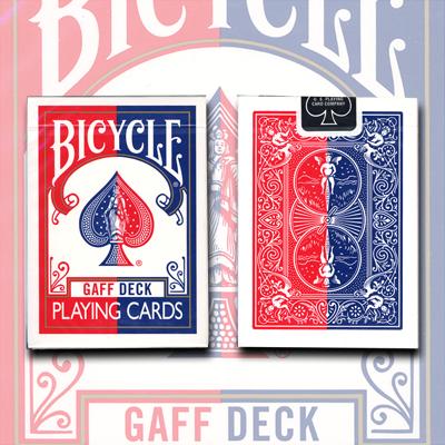 Gaff Deck Gaff Effect Deck Bicycle Red