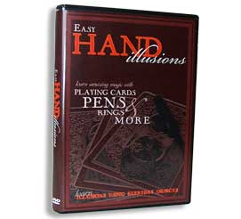 Easy Hand Illusions (w/ Cards, Pens, Rings)