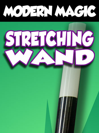stretching wand by modern magic mjm magic magic for. Black Bedroom Furniture Sets. Home Design Ideas