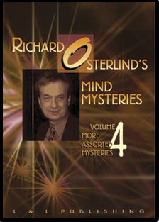 Mind Mysteries by Richard Osterlind - Vol. 4