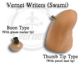 Vernet Writers (Nail writers, Swami) - Thumb Tip - 2 mm. Pencil