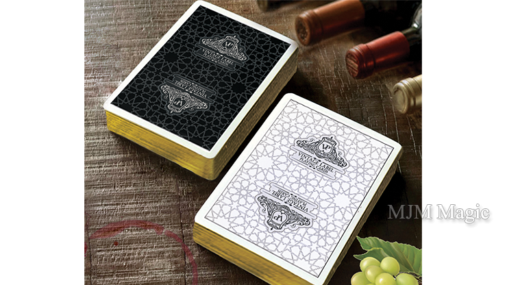 Vintage Label Playing Cards (Gold Gilded Black Edition) by Craig Maidment - Click Image to Close
