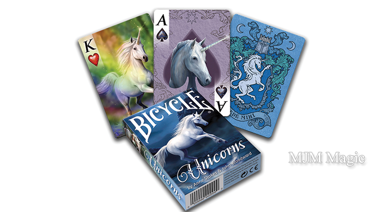 Anne Stokes Unicorns Cards by USPCC - Click Image to Close
