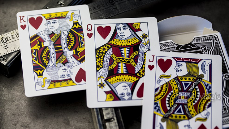 Flywheels Playing Cards by Jackson Robinson and Expert Playing Card Co. - Click Image to Close