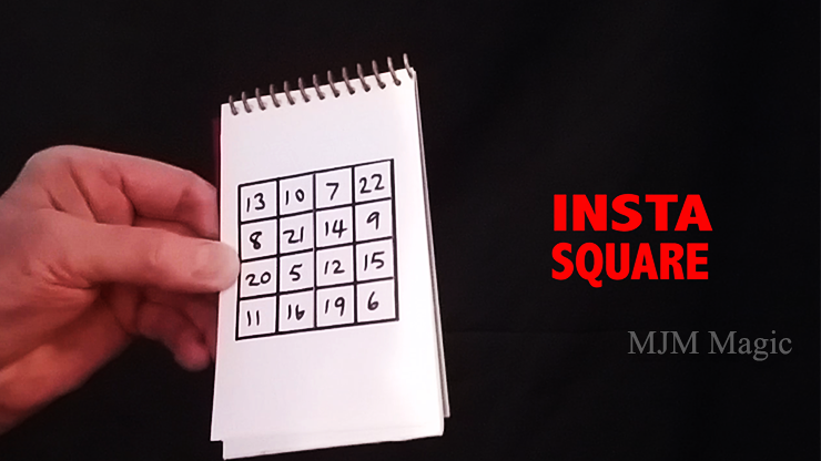 Insta Square (Gimmicks and Online Instructions) by Martin Lewis - Trick - Click Image to Close