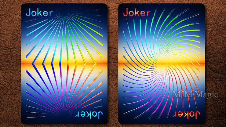 Prism: Dusk Playing Cards by Elephant Playing Cards - Click Image to Close