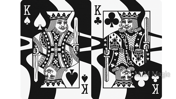 Wavy Playing Cards by Nathan Stichter - Click Image to Close