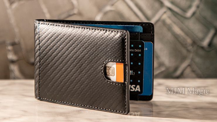 FPS Wallet Black (Gimmicks and Online Instructions) by Magic Firm - Trick