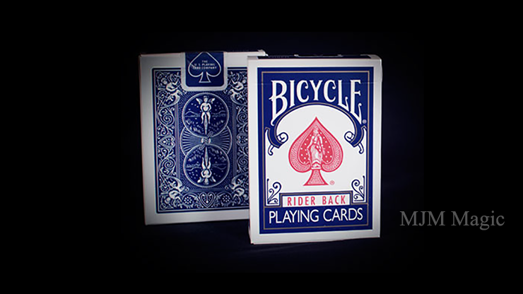 Bicycle Rider Back Playing Cards in Mixed Case Red/Blue(12pk) by USPCC - Click Image to Close
