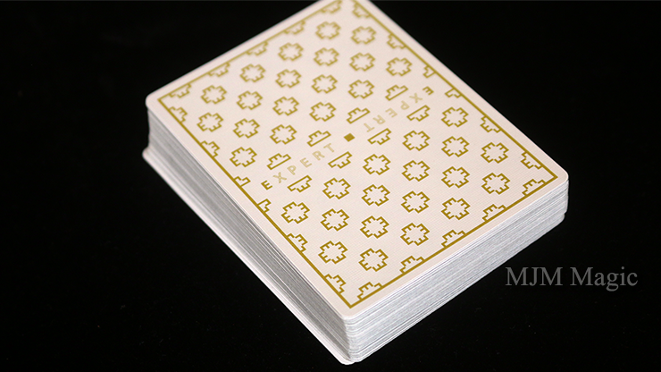 Expert At The Card Table (White) Playing Cards - Click Image to Close