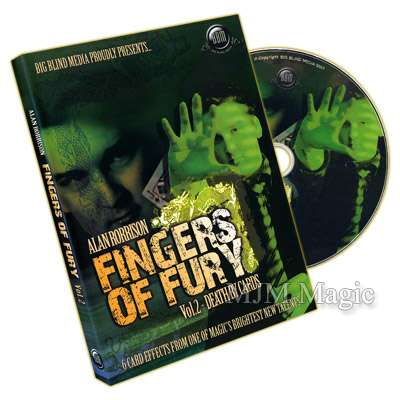 Fingers of Fury Vol.2 (Death By Cards) by Alan Rorrison - DVD - Click Image to Close