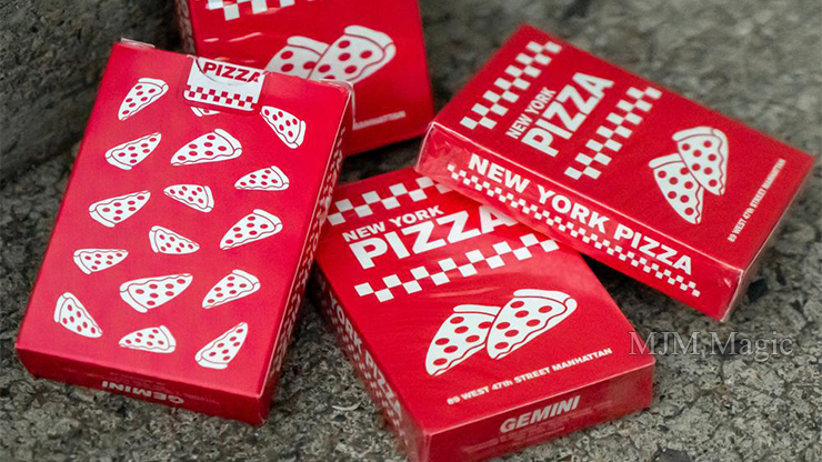 New York Pizza Playing Cards Decks by Gemini - Click Image to Close