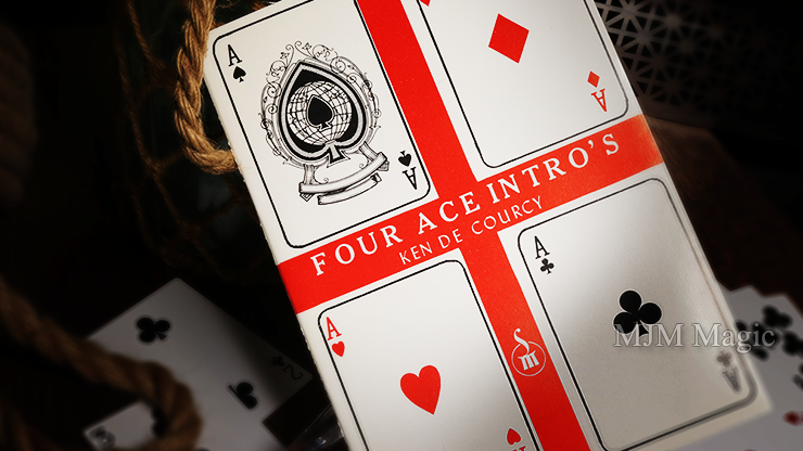 Four Ace Intro's by Ken de Courcy - Book - Click Image to Close