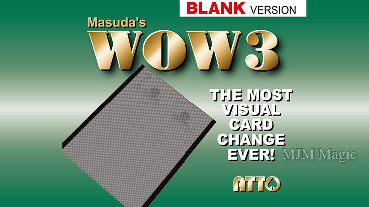 WOW 3.0 Blank (Gimmick and Online Instruction) by Masuda - Trick