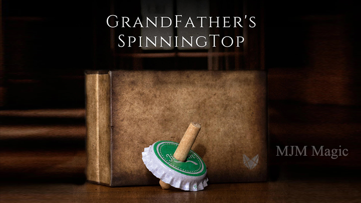 Grandfather's Top (Gimmick and Online Instructions) by Adam Wilber and Vulpine Creations - Trick