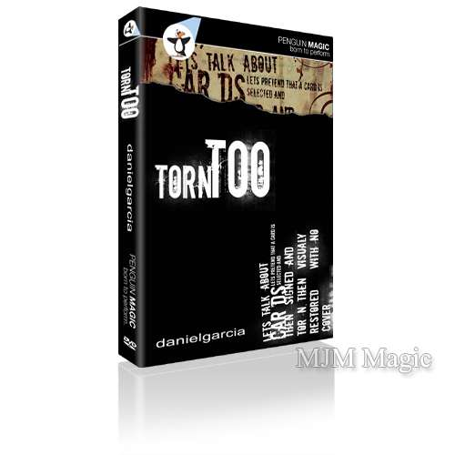 Torn Too by Daniel Garcia - DVD