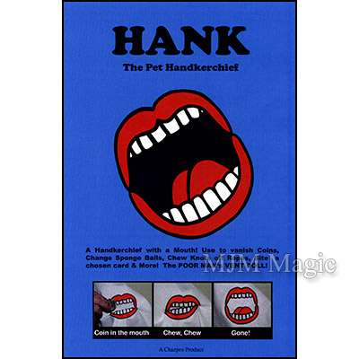 Hank The Pet Hanky by Chazpro Magic - Trick - Click Image to Close