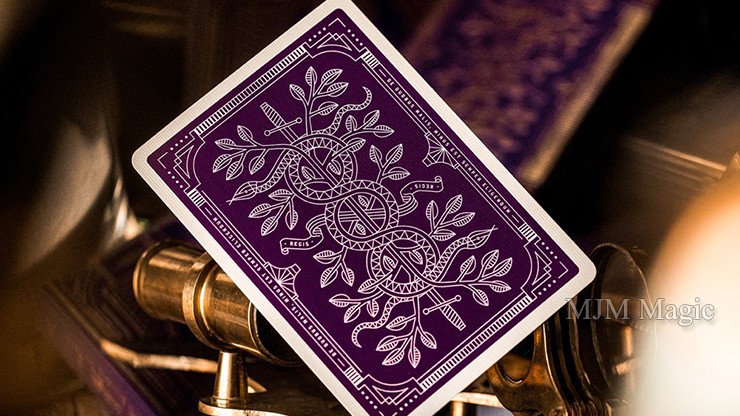 Monarch Royal Edition (Purple) Playing Cards by theory11 - Click Image to Close