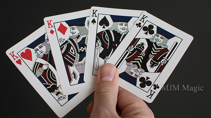 Handshields Playing Cards Modern Edition - Click Image to Close
