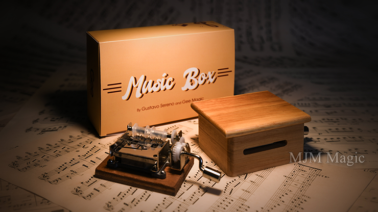 MUSIC BOX (Gimmicks and Online Instruction) by Gee Magic - Trick