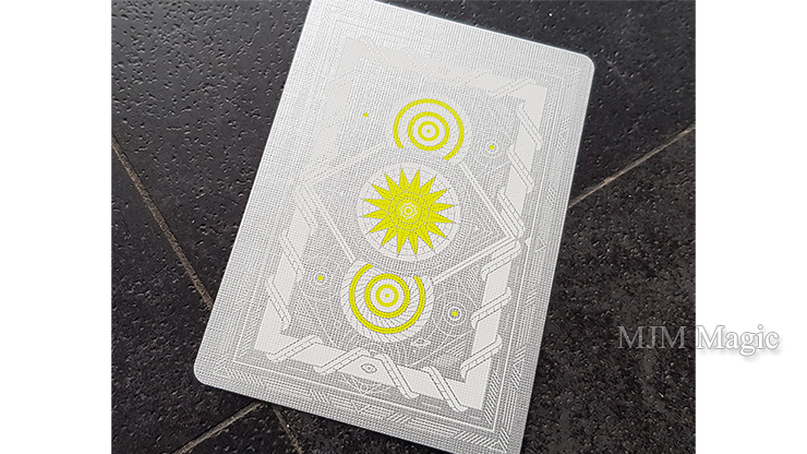 White Monolith Playing Cards by Giovanni Meroni - Click Image to Close