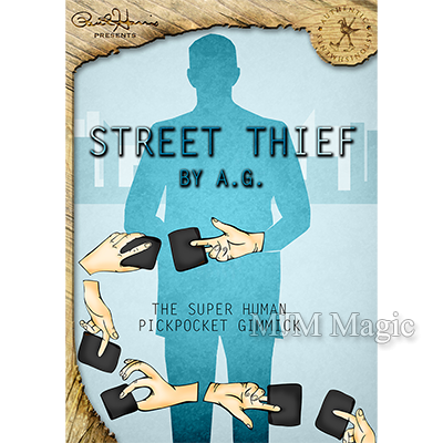 Paul Harris Presents Street Thief (Japanese Yen - RED) by & Paul Harris - Trick - Click Image to Close