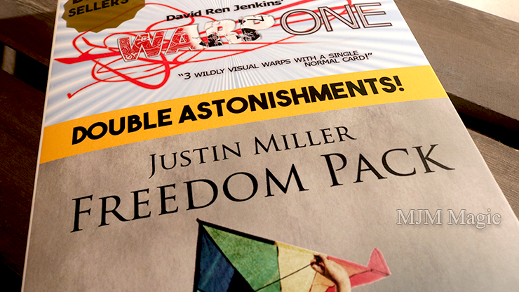 Paul Harris Presents Warp One/Freedom Pack Double Astonishments by Justin Miller & David Jenkins - Trick - Click Image to Close