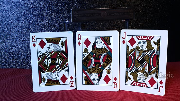 Bicycle Styx Playing Cards (Brown and Bronze) by US Playing Card - Click Image to Close
