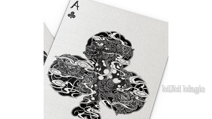 Bicycle Sumi Playing Cards - Click Image to Close