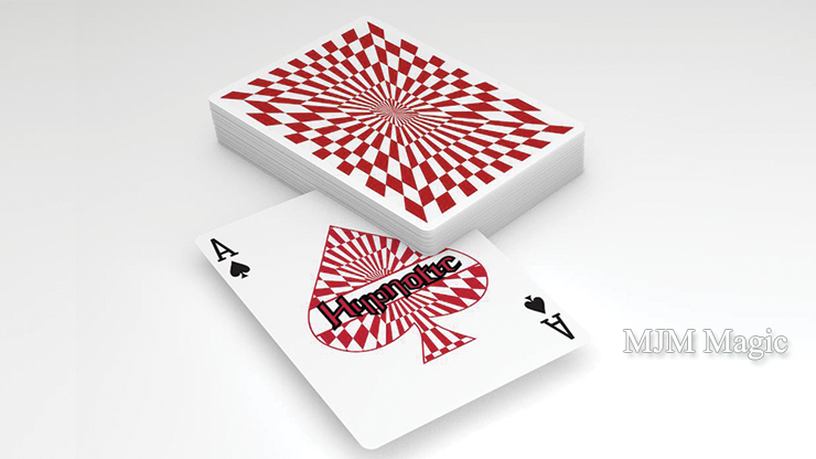 Hypnotic Playing Cards by Michael McClure - Click Image to Close