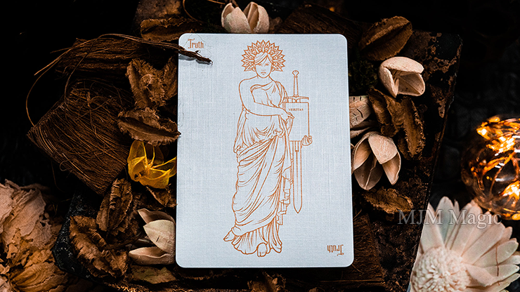 Invocation Copper Playing Cards by Kings Wild Project - Click Image to Close